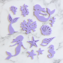 MYSTIC MERMAIDS Sweet Stamp  elements set 13 Delig