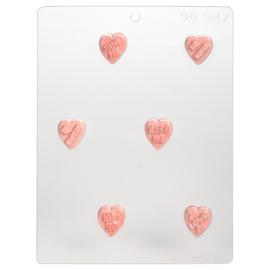 Sweet heart chocolade mal om hartjes met tekst te maken