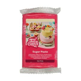Hot Pink Funcakes Rolfondant Roze- 250 Gram