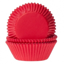 Red velvet  Cupcake baking cups House of Marie Baking Cups 50/pk