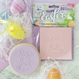 CUTE BUNNY - Outboss -EASTER- Sweetstamp