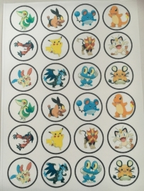 201606 Pokemon eetbare Frosting Sheet