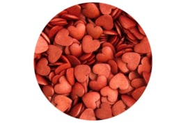Glimmer hearts Red