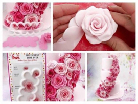 The Easiest Rose Ever cutter FMM