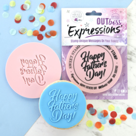 Fun Happy Father's Day - Outboss-expressions- Sweetstamp