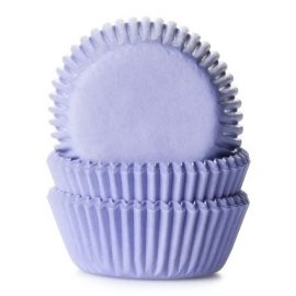 015025 House of Marie Mini Cupcake Baking Cups Lila 60/Pk