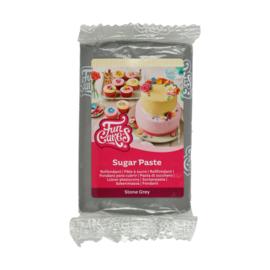 Stone Grey Funcakes Rol fondant  250 Gram