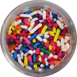 Regenboog mix Jimmies /  Sprinkels geschikt om mee te bakken