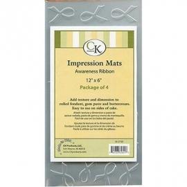 047079 CK Impression Mat Pink ribbon 30x15 cm
