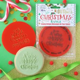 kerst / winter Taart- Cupcake toppers
