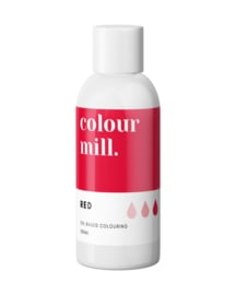 100 ml RED Colour Mill oil based food coloring