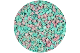 Unicorn mix Glimmer mini stars confetti