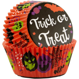 Trick or treat Cupcake baking cups Wilton