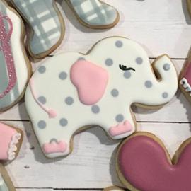 Cutie baby olifant  koek Uitsteker
