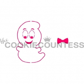 333116 Cookie Countess Stencil Friendly ghost / spookje