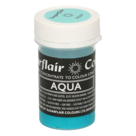 Sugarflair Paste Colour Pastel Aqua