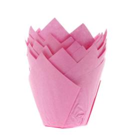 HOM Tulip muffin cups Roze