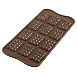 Chocolade reepjes mal-mini chocolade reepjes maken