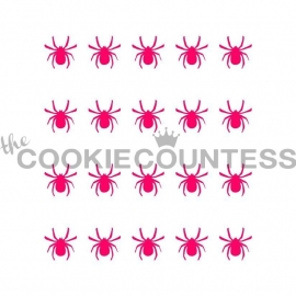 333120 Cookie Countess Stencil spider harlequin companion