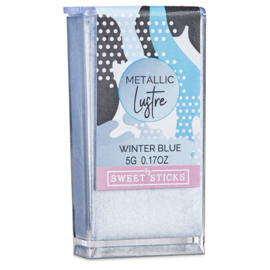 WINTER BLUE Edible Metallic Lustre dust Sweet Sticks