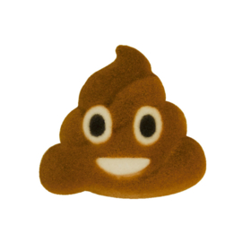 POOP Emoji klein mal voor chocolade