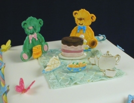012114 Patchwork cutter Teddy Bears Picnic