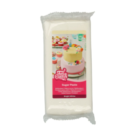 Bright White 1 Kg Funcakes rolfondant / sugarpaste vanille