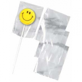 005021 Wilton Lollipop Bags Clear 50/Pk