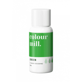Green Colour Mill oil based food colouring
