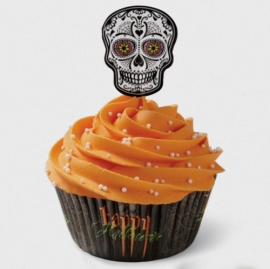 023010-1 Wilton Deadly Soiree/ sugar skull combo pack 24/pk