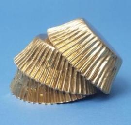 PME baking cups gold 30/Pk