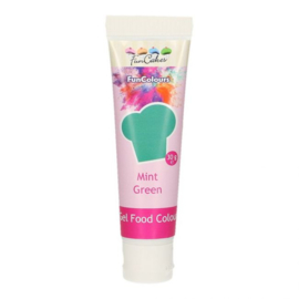 MINT GREEN Funcolour concentrated color Gel Funcakes