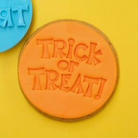 TRICK OR TREAT Cookie/ Cupcake embosser