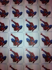 Spiderman Eetbare print