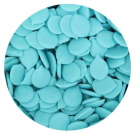 LICHT BLAUWE Deco Melts / candy melts
