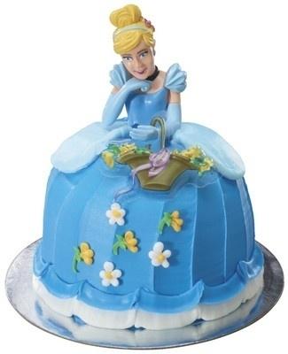 Assepoester Taarttopperset Voor Prinsessentaart
