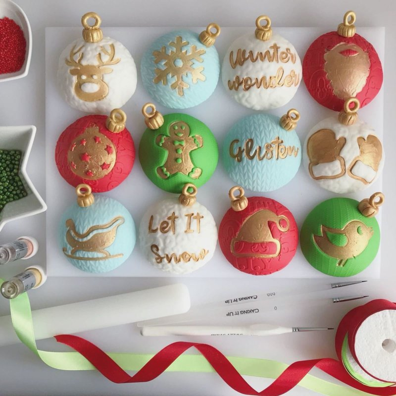 CUTE CHRISTMAS Sweet Stamp elements set 6 Delig