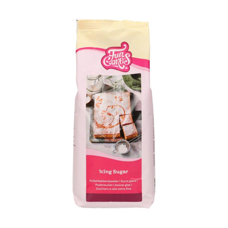ICING SUGAR / Suikerbakkerspoeder Funcakes 900 Gram