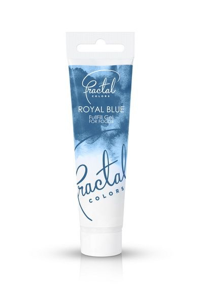 ROYAL BLUE Fractal Colours Fullfill gel ook geschikt voor chocolade