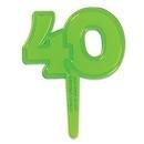 Cupcake Toppers 40 Groen 6/Pk