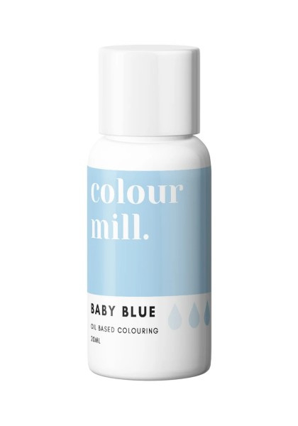 Baby blue Colour Mill oil based food colouring