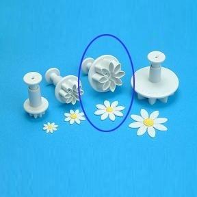 Daisy/ Margriet bloem Medium  Plunger cutter PME