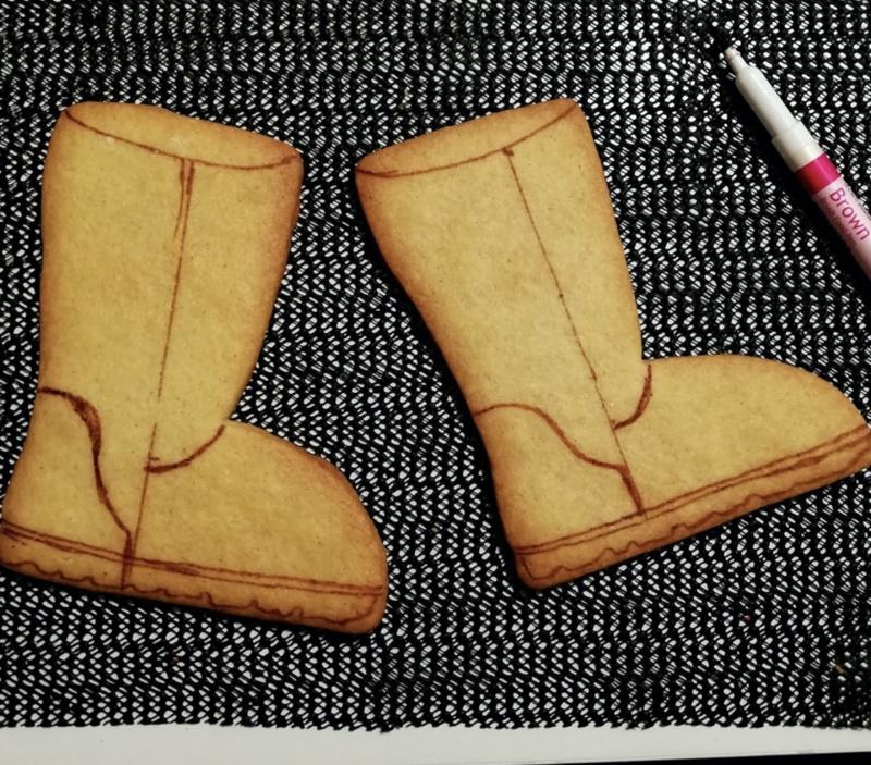 Designer schoen uitsteker Koekdesign