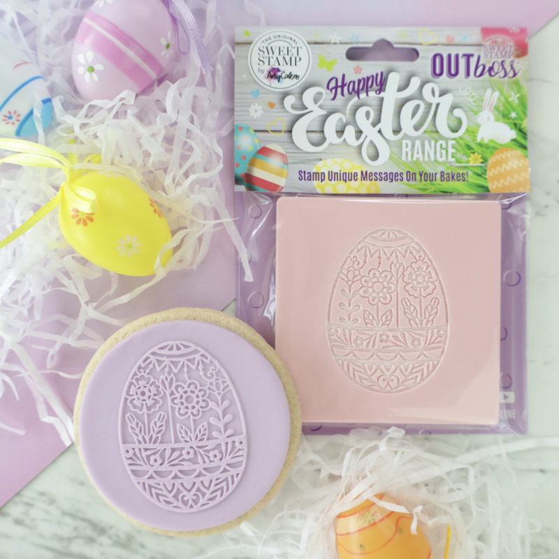 FLORAL EGG - Outboss -EASTER- Sweetstamp