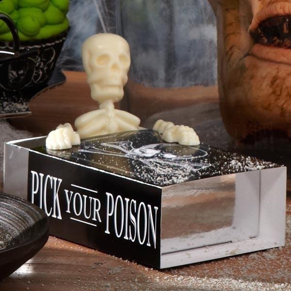 Halloween Pick your Poison traktatiedoosje