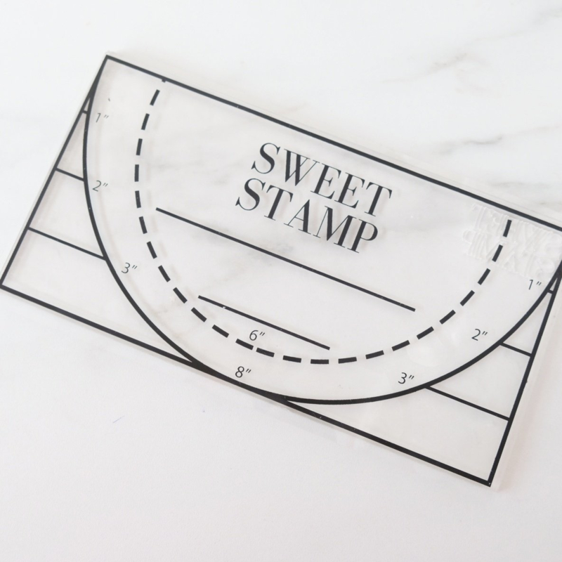 Sweet Stamp Pick up pad Large