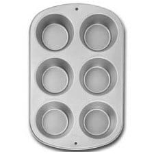 Wilton 6 cup Jumbo Muffin Bakvorm