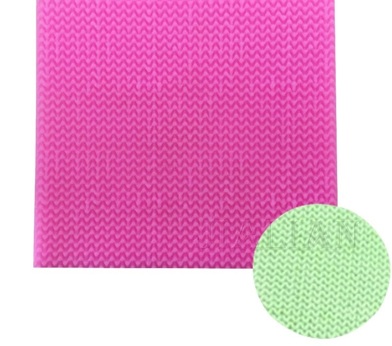 Haak patroon Silicone mal