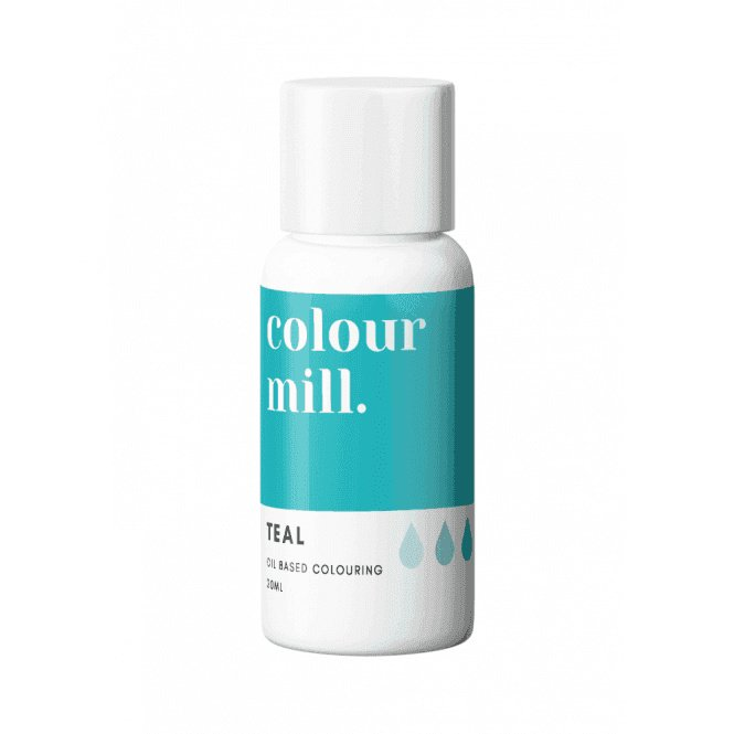 TEAL Colour Mill oil based food colouring