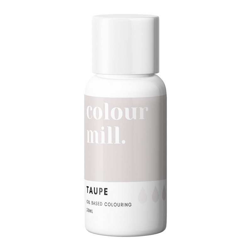 TAUPE Colour Mill oil based food colouring